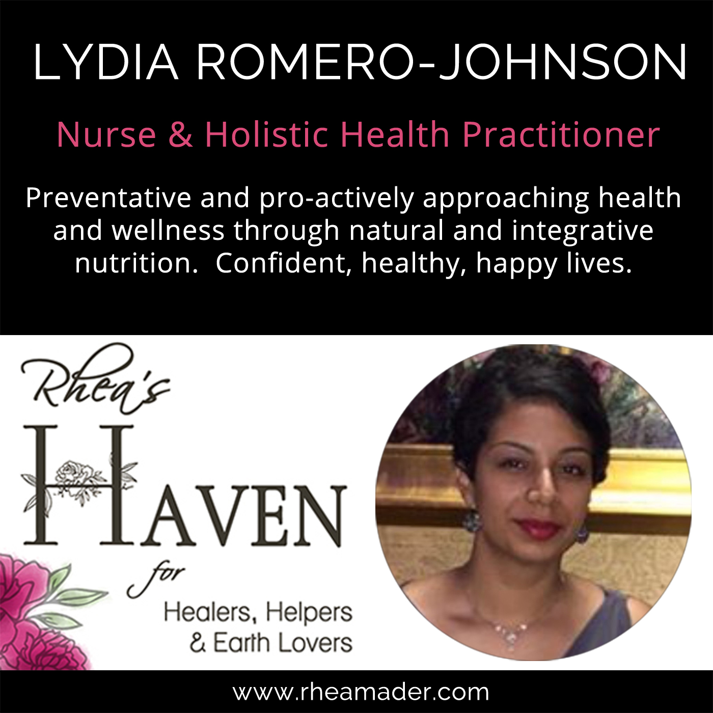 LYDIA ROMERO-JOHNSON:  Nurse, Intigrative Nutrition Expert & Autoimmune Thriver
