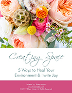 Creating Space EBook Heal Your Environment Invite Joy